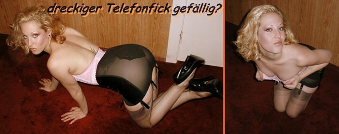 dreckiger versauter Telefonfick